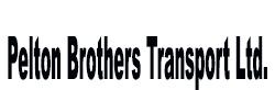 Pelton Brothers Transport Ltd.